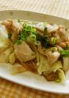鶏と白菜の重ね蒸し
