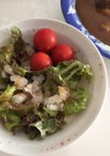 冷凍玉ねぎの楽々サラダ