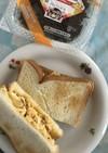 ふわ卵昆布のトーストサンド