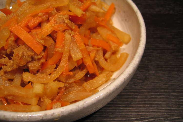 レシピ ツナ 大根 大根とツナの簡単サラダのレシピ/作り方:白ごはん.com
