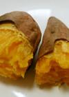 簡単オーブントースターで安納芋の焼きいも
