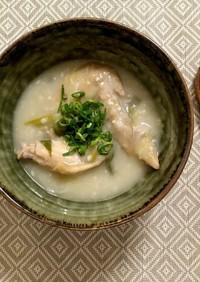 参鶏湯風手羽先のコク旨スープ