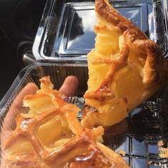 超本格♠りんごとサツマイモのパイ