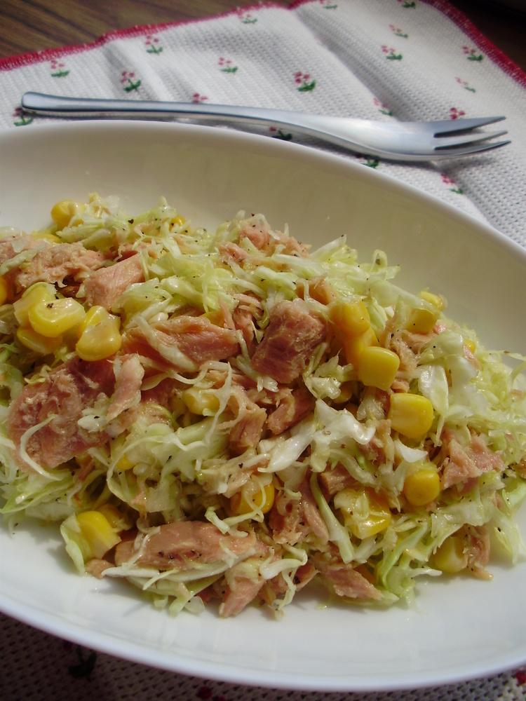 低カロリー!☆ツナとキャベツのサラダ