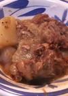圧力鍋で豚軟骨の煮込み