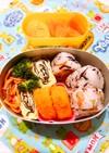 幼稚園お弁当 3歳3ヶ月①