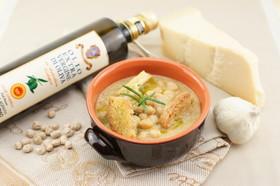 ひよこ豆のスープ♡オリーブオイルひとかけ