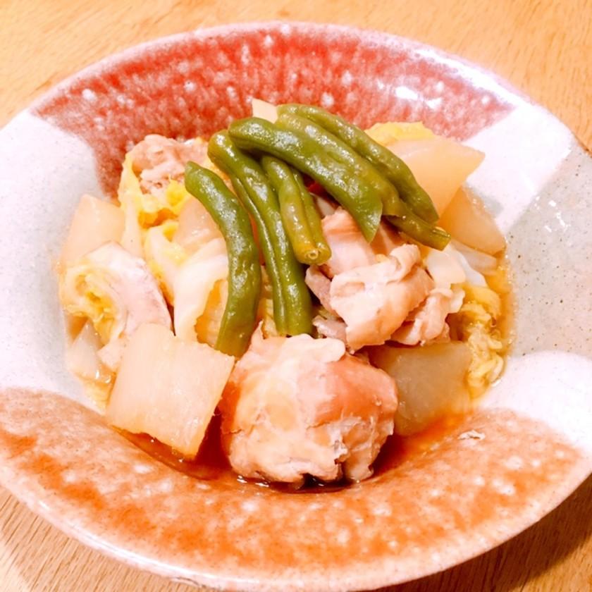トロトロ白菜と鶏大根の煮物