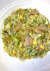 簡単パラパラ鶏肉と高菜の炒飯