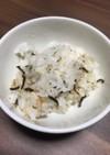 松茸のお吸い物の素使用、炊きこみご飯