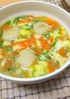 【龍愛】やみつき☆つくね入りたまごスープ