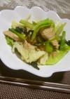 簡単!!鶏肉&キャベツ&小松菜の炒めもの