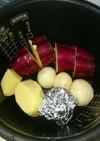 炊飯器でほくほく温野菜・ゆで卵❤簡単