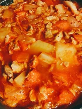 チゲ鍋(簡単格安美味チゲ鍋)