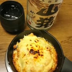【超簡単】鯖缶チーズグラタン【糖質ゼロ】