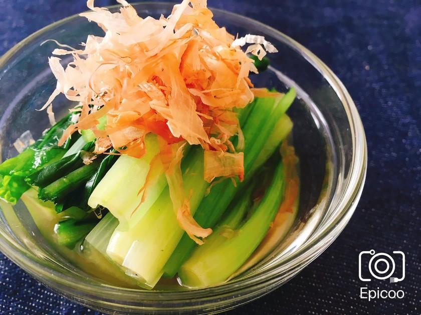 レンジで簡単!小松菜のお浸し
