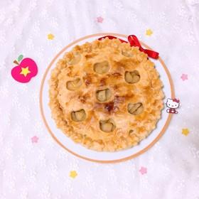 キティちゃんの誕生日祝♡アップルパイ