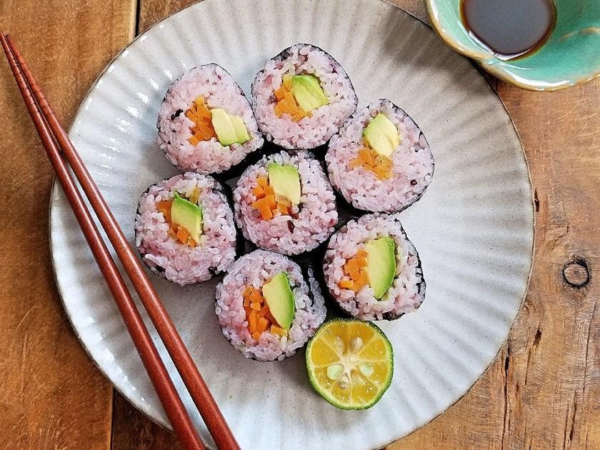 カラフル巻き寿司*アボカドロール