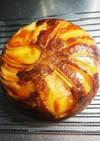 炊飯器で簡単!!林檎パンケーキ!