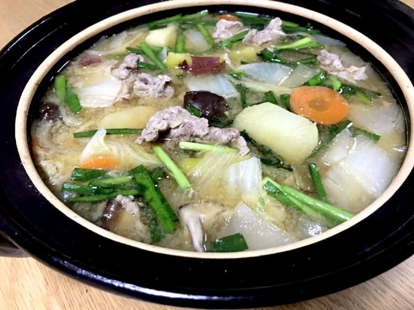 味噌味野菜鍋