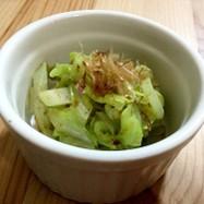 簡単副菜☆キャベツの梅肉和え