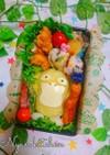 簡単♪ポケモン『コダック』弁当♡キャラ弁