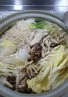 きのこ&鶏&ごぼうのスープ