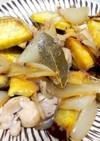 さつまいもと鶏肉のハーブ蒸し煮