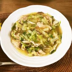 めんつゆ簡単!白菜と豚肉のトロトロ炒め煮