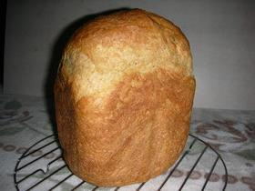 HBで小麦胚芽入り食パン