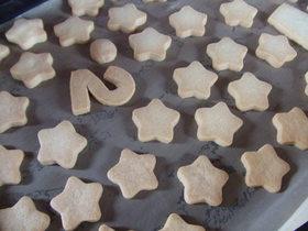 サクサク型抜きクッキー♪