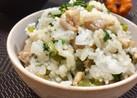 ✿鶏と大根葉の混ぜご飯✿