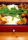豚キムチと甘辛薩摩芋のチーズタッカルビ風
