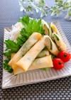 簡単★鶏胸肉とチーズの春巻