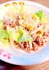 【時短】大根とひき肉のマヨサラダ