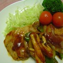 豚肉のケチャップ炒め(ちょっと酢豚風)