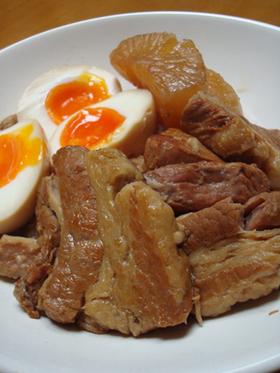 豚の角煮(トンポーロー)