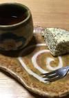 小麦ファイバーとチアシードの蒸しパン