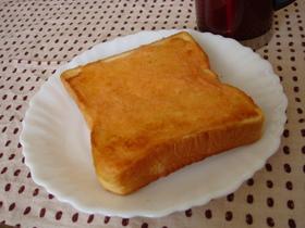 ◇明太マヨ活用その1・朝はトーストで◇