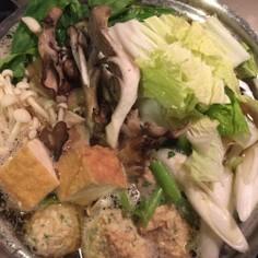 簡単!冷蔵庫のお野菜で一人鍋