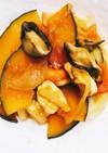 南瓜とササミのココナッツオイルコクウマ煮