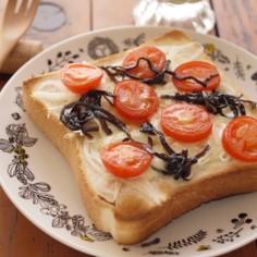 ふじっ子煮deチーズトースト
