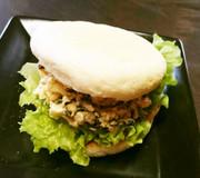 フジッコ煮ごま昆布でコブタマサンド☆の写真