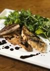 真鯛のポワレ バルサミコのソース
