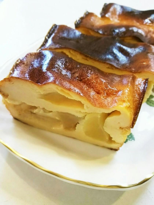 ラ・フランスのヨーグルトケーキ
