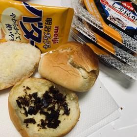 フジっ子 昆布でバタートースト