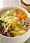 洋風で野菜をたっぷり!豆乳チーズ鍋