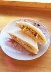 ふじっ子煮しそ昆布入り卵サンドイッチ