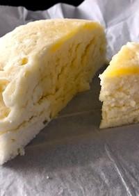 卵白の蒸しケーキ