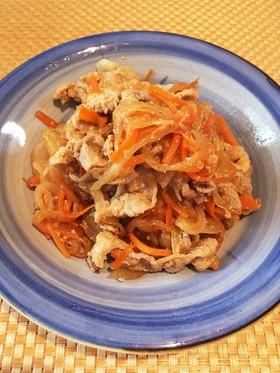 玉ねぎ大量消費☆豚の生姜焼き